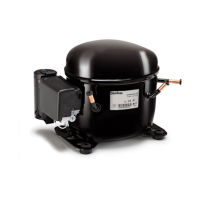 Герметичный компрессор Danfoss GLY80AAa (123B1121)