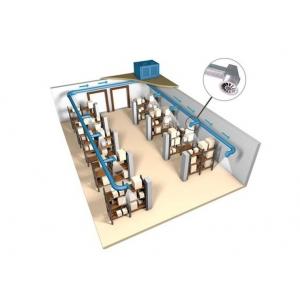 Проектирование вентиляции склада