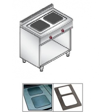 Плита электрическая Bertos E6PQ2MP9+PG2Q900