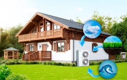 Отопление частного дома  тепловым насосом