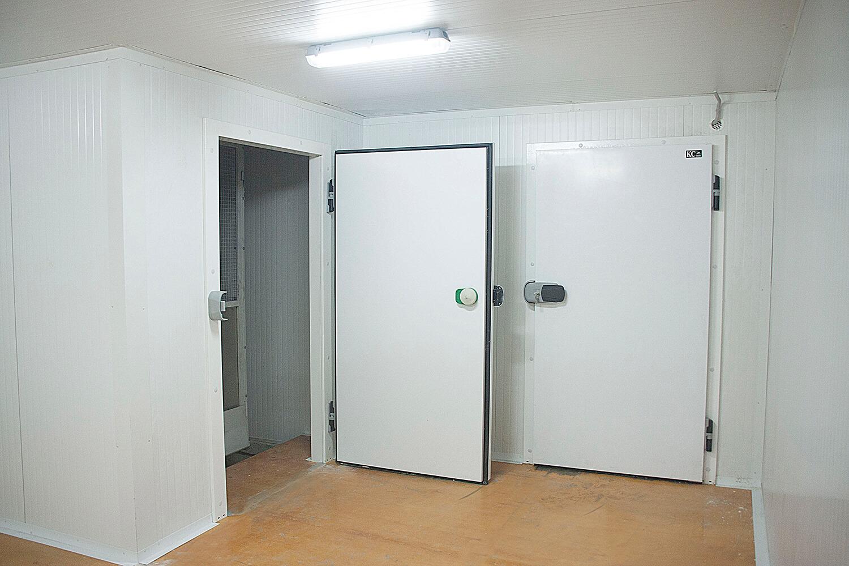 Морозильные и холодильные камеры для заморозки полуфабрикатов